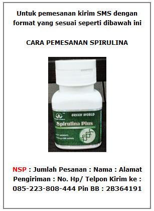 cara pemesanan NSP spirulina